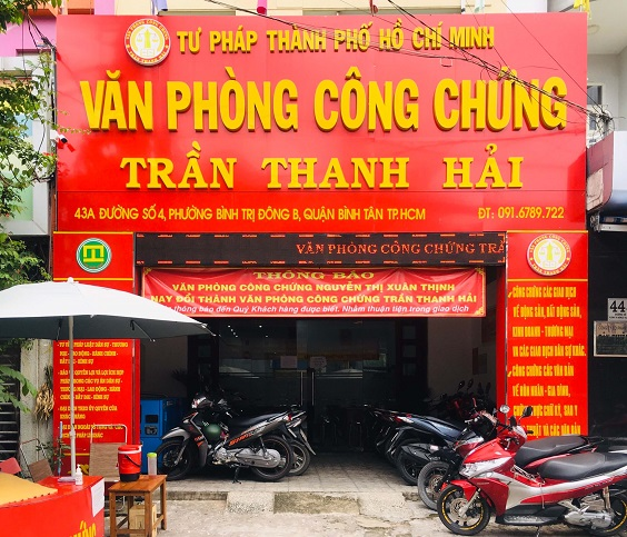 van phong cong chung tu nhan chuyen nghiep